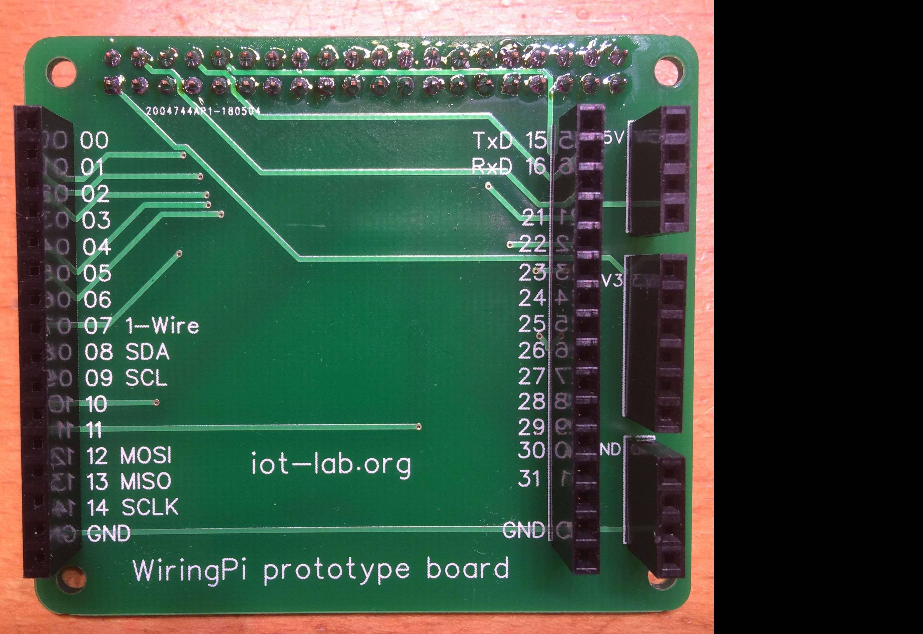 Leo Easyeda Node Wiringpi Wiring Pi Prototype Board