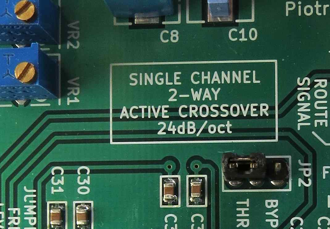 Piotrsylwesiuk Easyeda Circuit Was Designed For The Purpose Of Creating An Active Crossover Single Channel 2 Way 24db Oct