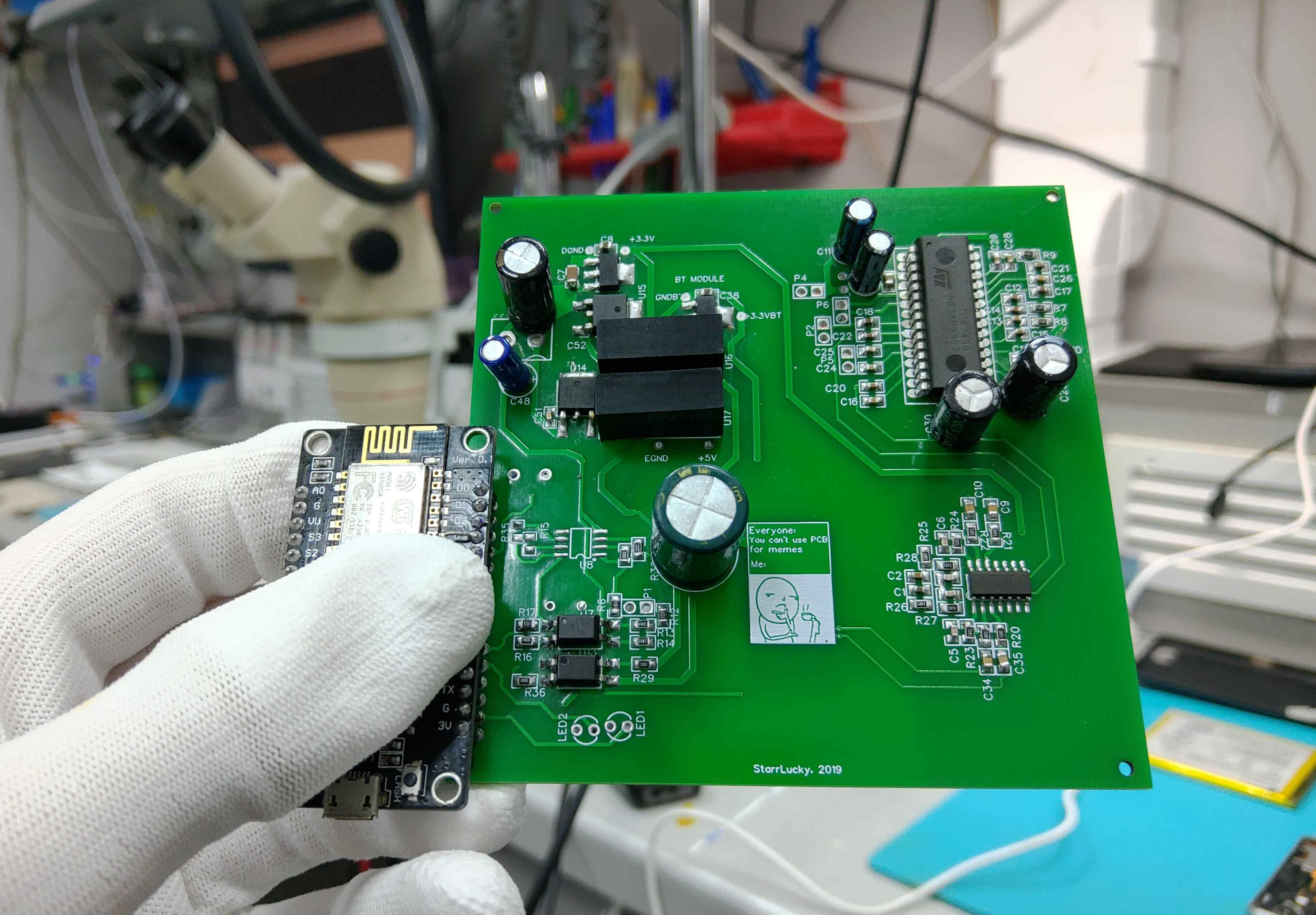 4-Channel Relay Driver Module - EasyEDA