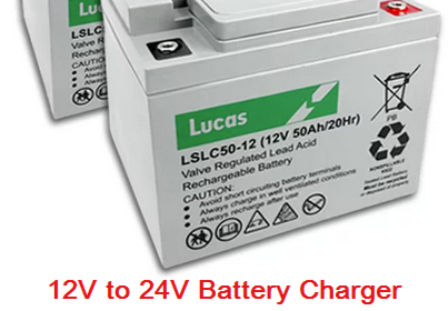 12V to 24V Battery Charger