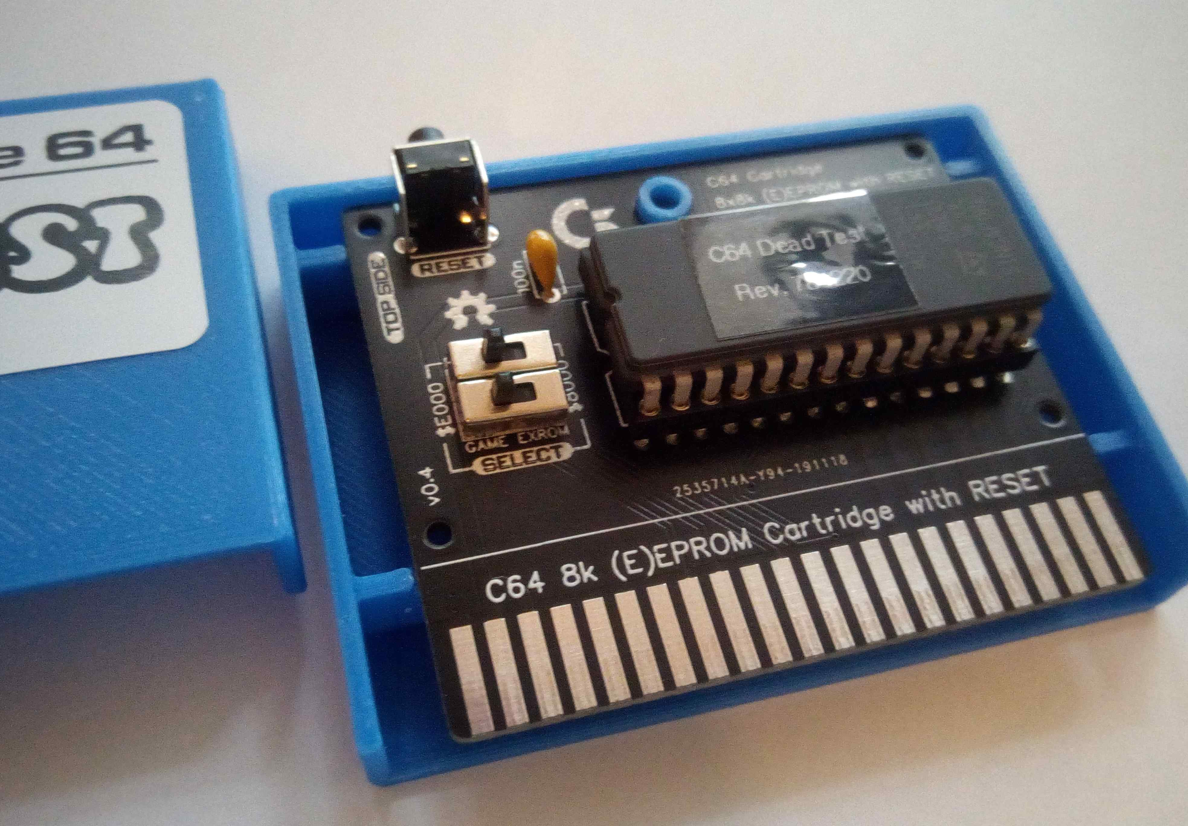 C64 8k Cartridge DIP