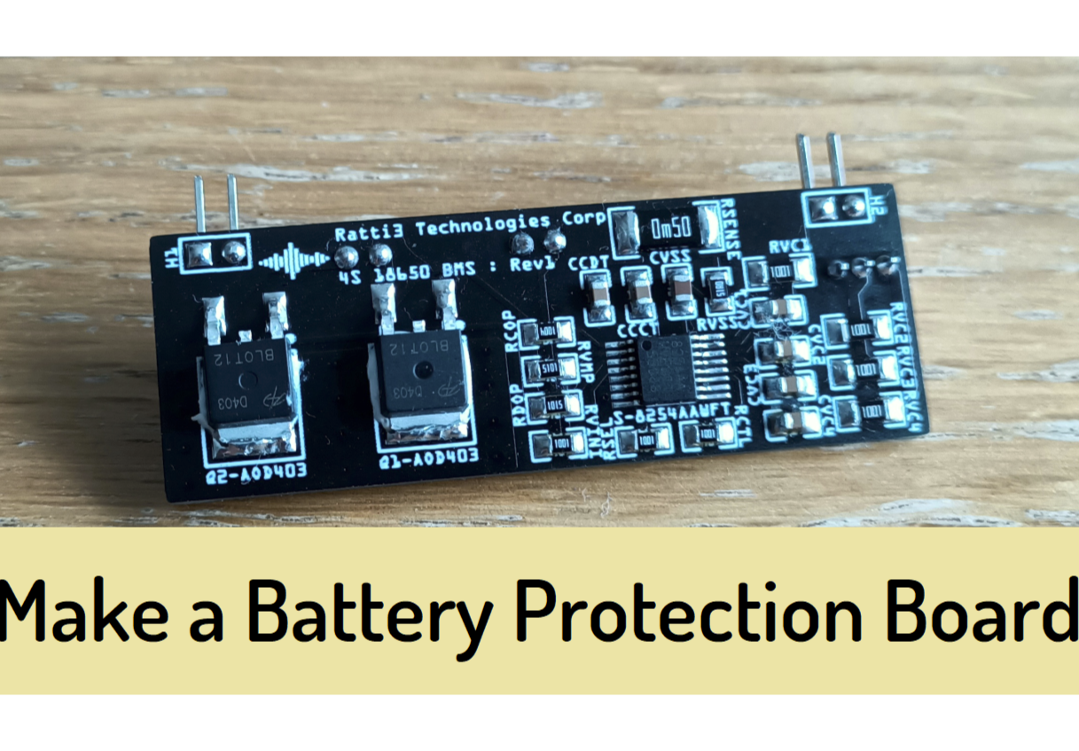 ABLIC 4S Battery Protection Board