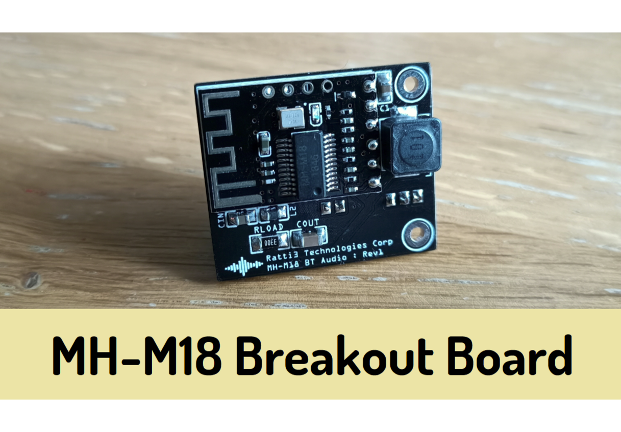 MH-M18 Bluetooth Audio Receiver Breakout Board