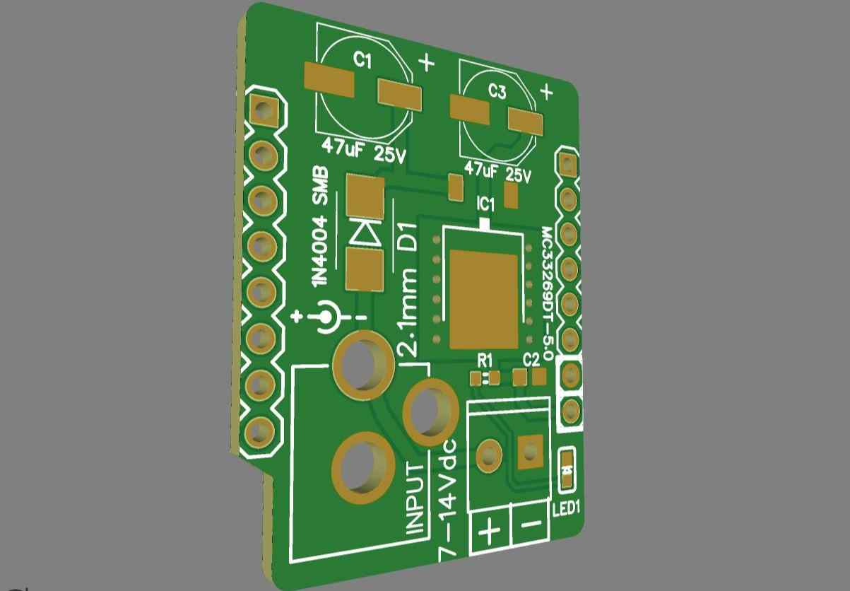 Power Shield for the WeMos D1 Mini