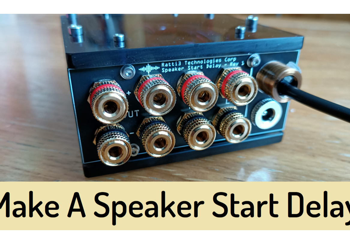 Speaker Start Delay/Soft Start