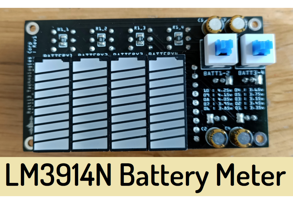 LM3914 Battery Level Meter