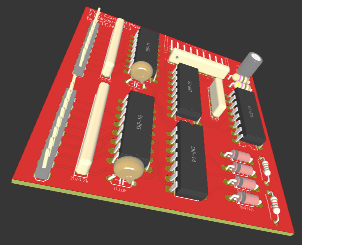PC-Engine Control Board 2P V1.3