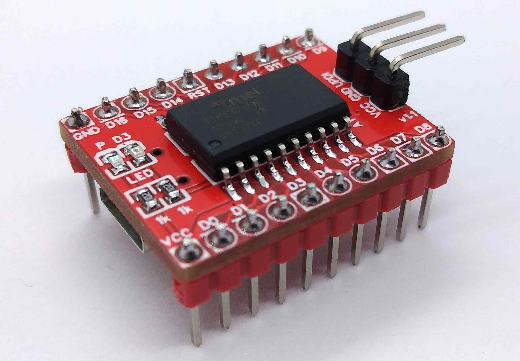 ATtiny3216 Development Board