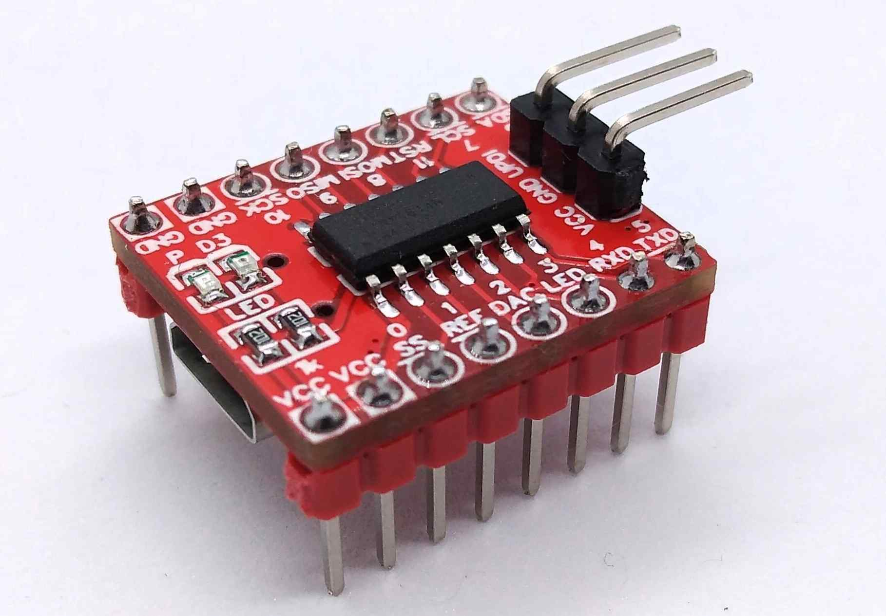 ATtiny814 Development Board SMD