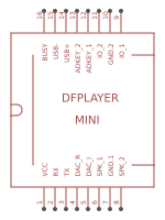dfplayer-mini-module - Search - EasyEDA
