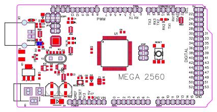 arduino mega board footprint - Search - EasyEDA
