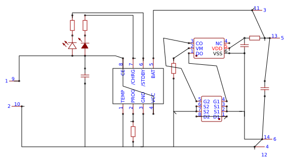 lipo charging circuit - Search - EasyEDA