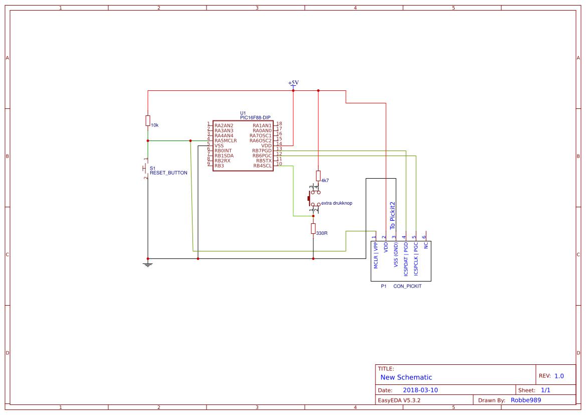 Extra Drukknop 2 Easyeda Pickit 1 Circuit Diagram