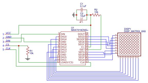 max7219 led matrix - Search - EasyEDA