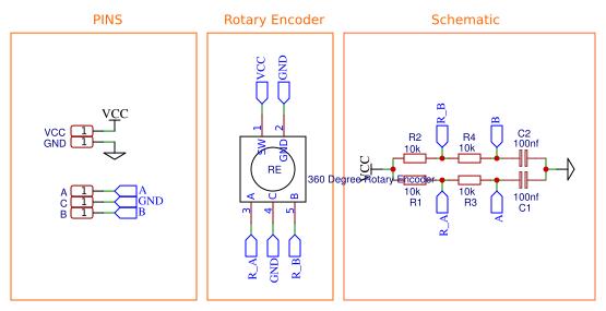 Outstanding 360 Degree Rotary Encoder Module Easyeda Wiring Database Numdin4X4Andersnl