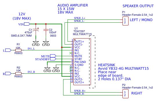 Pcb Tda7297 Amplifier Circuit Diagram - Pcb Circuits