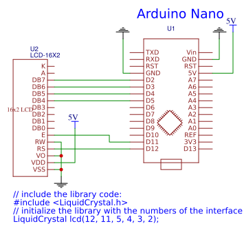 Arduino Nano and LCD Display copy Resources - EasyEDA