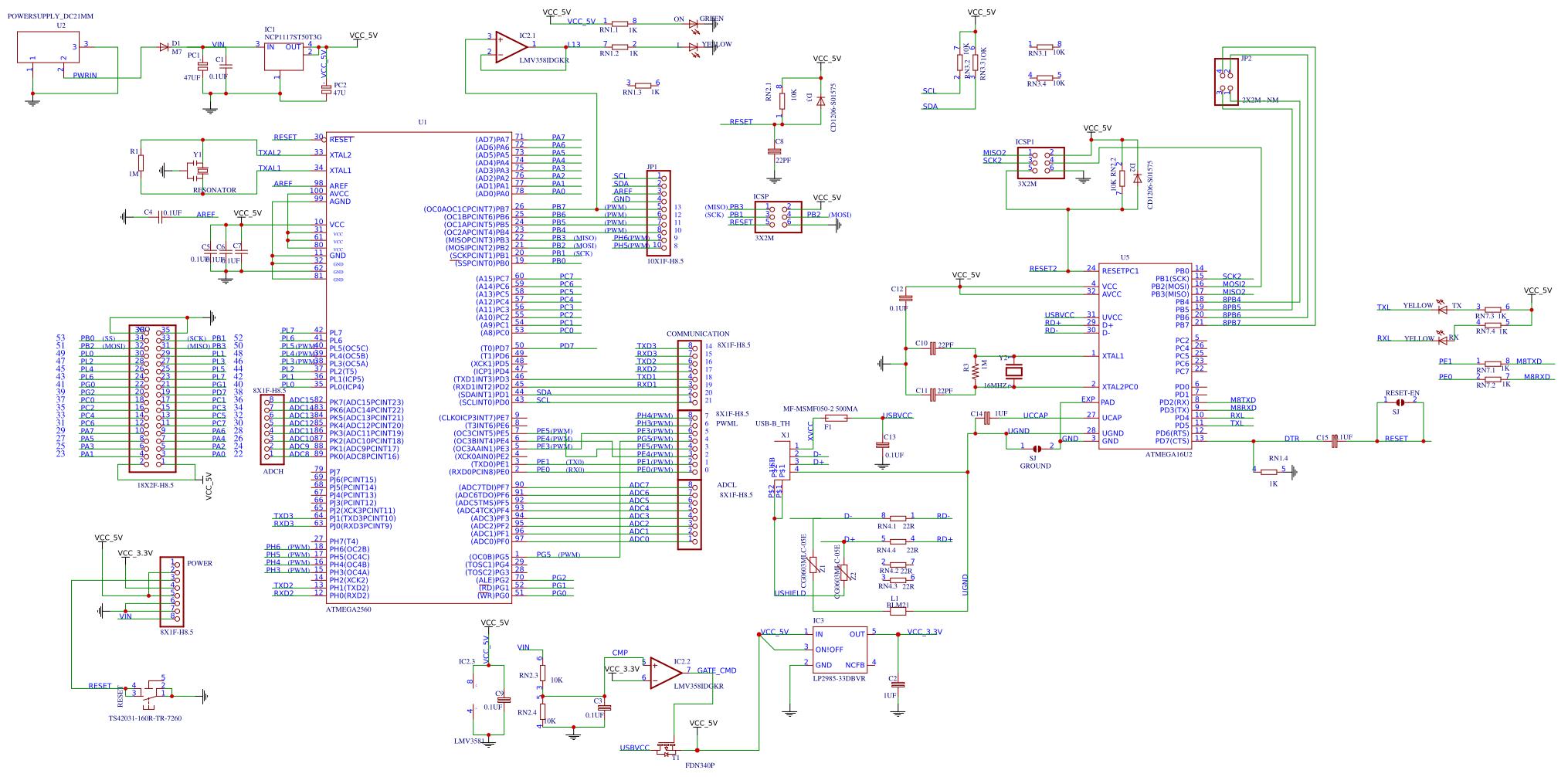 Arduino Mega 2560 schematic eqfq Resources - EasA on