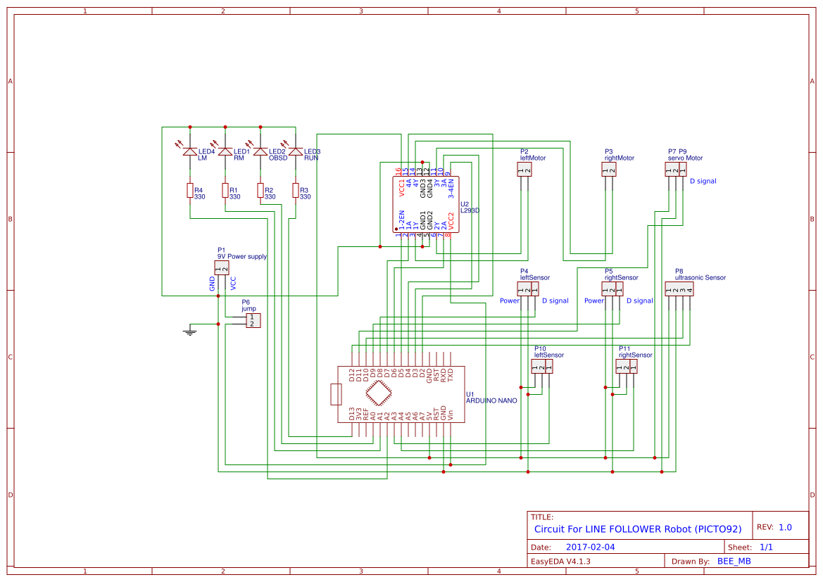 Picto Copy Easyeda 9v Power Supply Circuit The Schematic 2