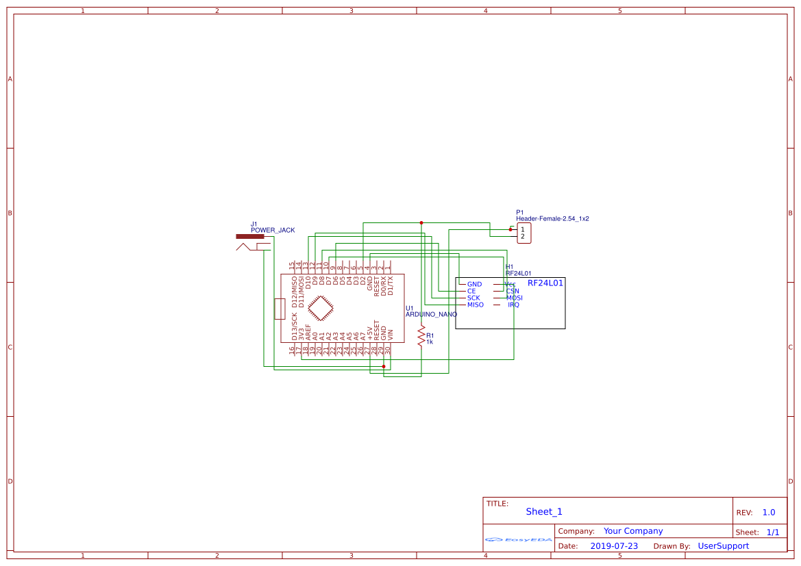 Antenna analyzer (SMD) - EasyEDA