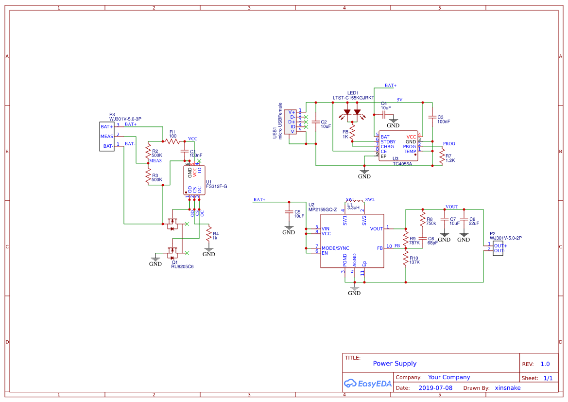 Printed Circuit Board Copper Foil Track Layout Of This Project
