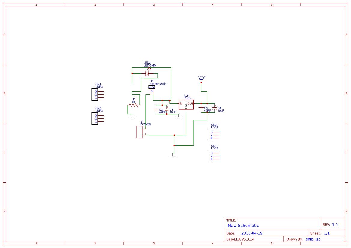 Line Follower Robot Without Microcontroller Search Easyeda Analoglinefollowercircuitjpg
