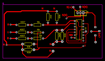 Grbl PCB complete solution with optocouplers - EasyEDA
