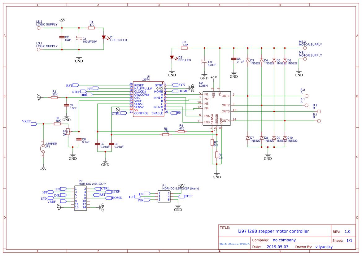 l297-l298-motor-control - EasA on