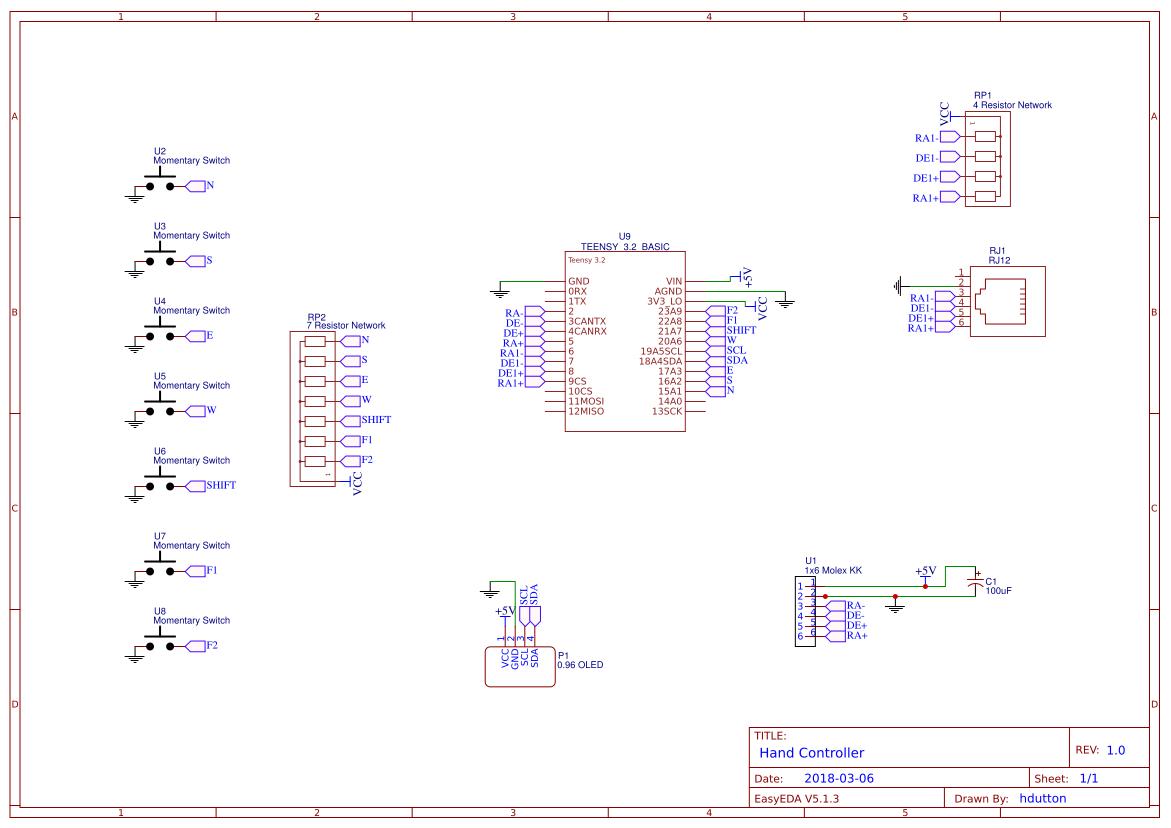 Explore Easyeda Circuitlab Op Amp Mixer Onstep Smart Hand Controller