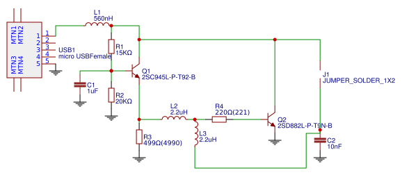 Ultrasonic Humidifier Driver - EasyEDA
