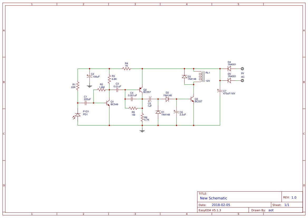 ir receiver circuit easyeda