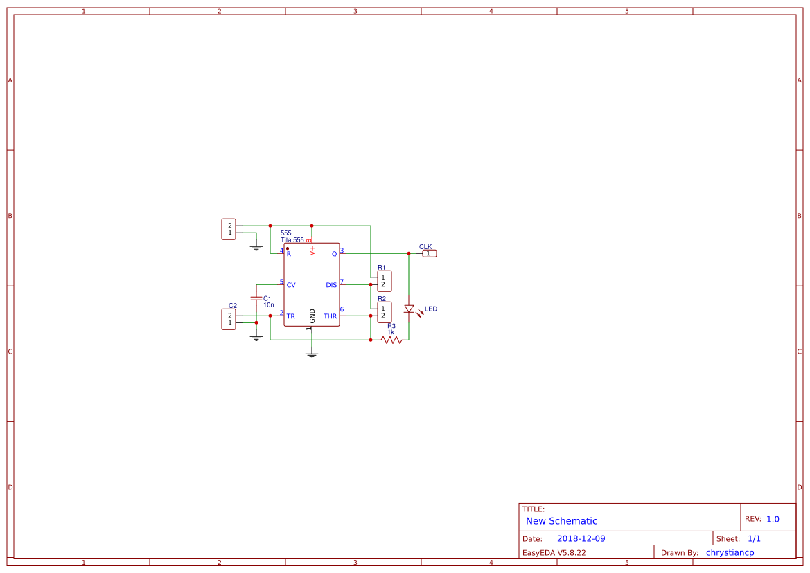 Led Chaser Circuit Using Cd4017 And 555 Search Easyeda Diagram Ic Cd 4017 Useful Circuits