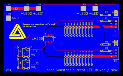 Linear constant current LED driver copy - EasyEDA