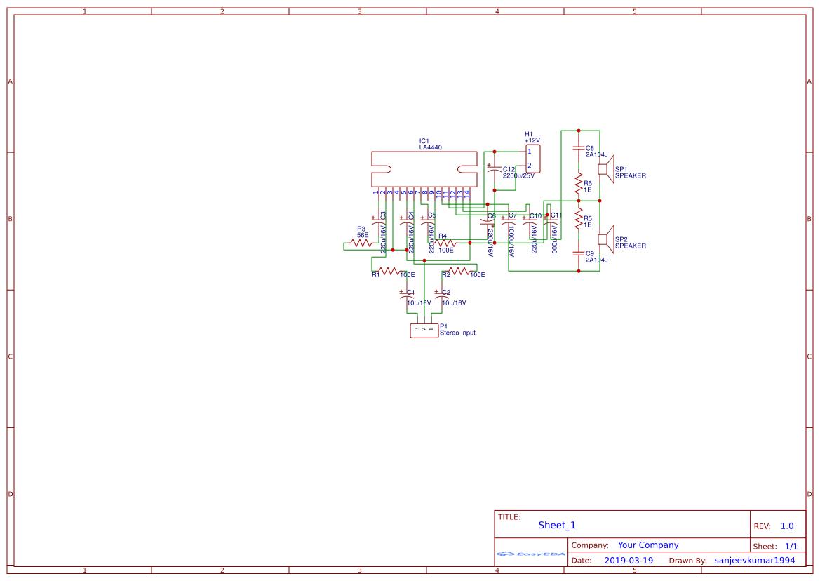 60 Watt Audio Power Amplifier Circuit Diagram Circuit Diagram
