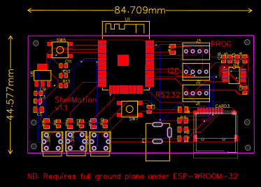 ESP32 SD Logger with RS232 - EasyEDA