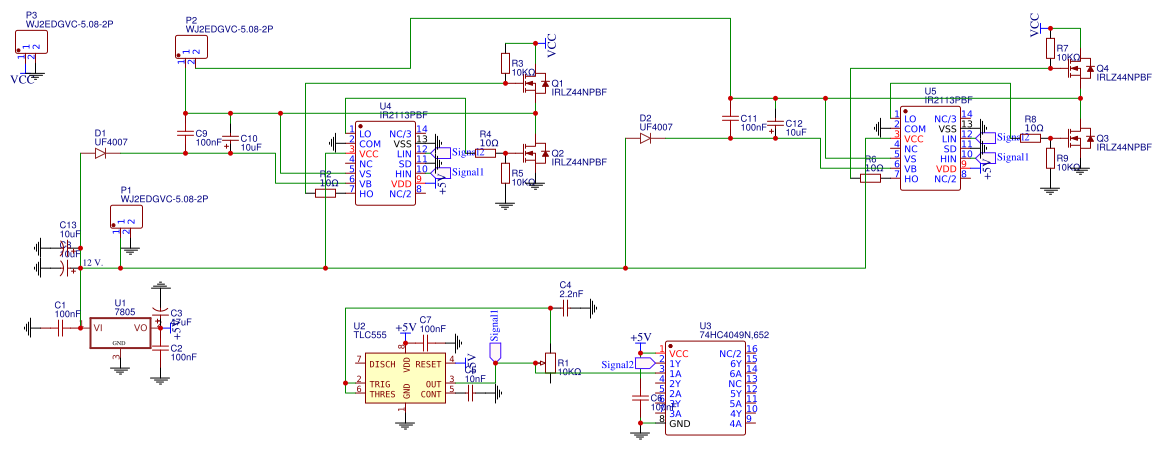 Ultrasonic mist maker - EasyEDA