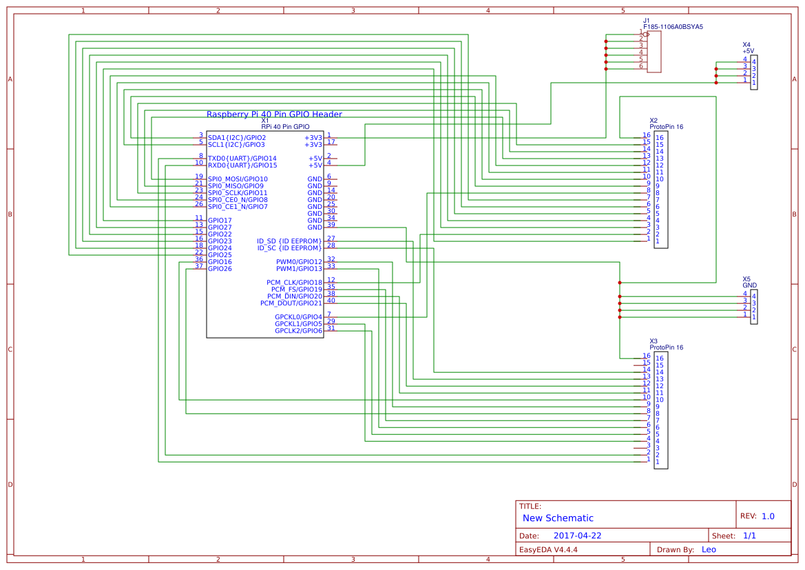 Wiring Pi prototype board copy - EasA on