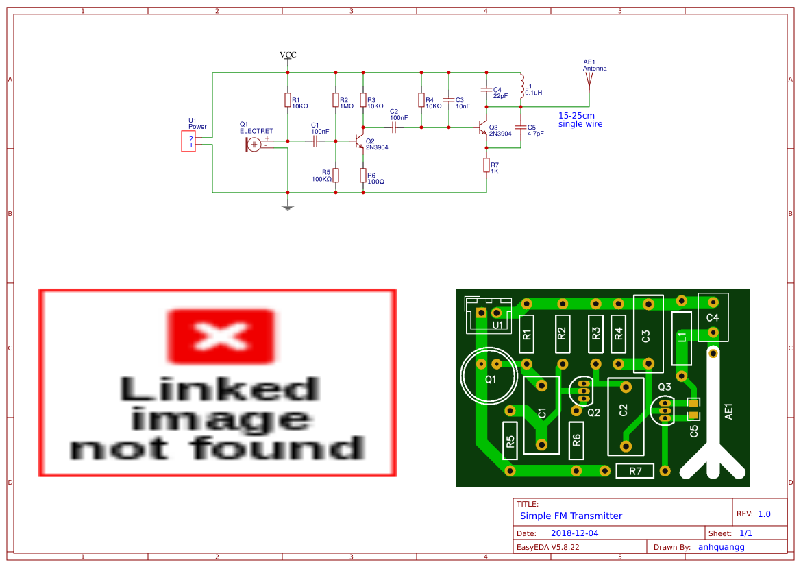 Simple Fm Transmitter Diagram
