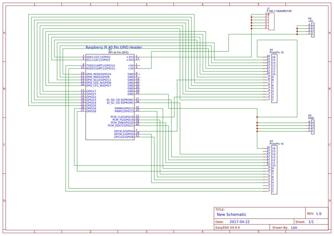 Wiring Pi Prototype Board Easyeda Wiringpi Pins Schematic