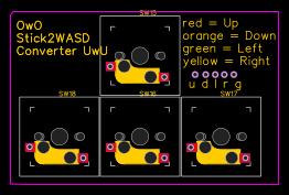 XInput Leonardo PCB - EasyEDA