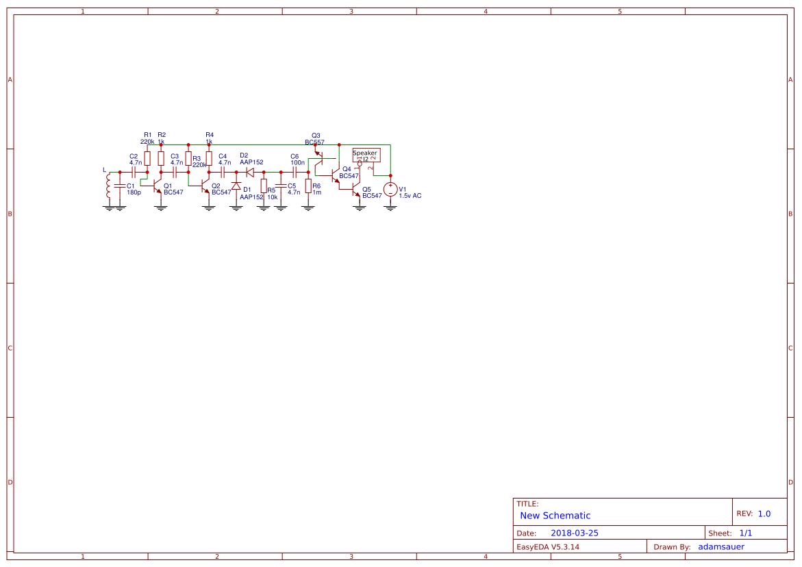 Bc547 Transistor Search Easyeda Simple Preamplifier With Transistors Am Radio