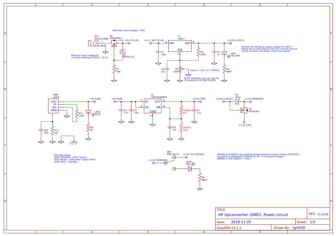 Explore Easyeda Working Of Ft232 Chip Usb To Uart Converter Gadgetronicx Hf Upconverter Smd