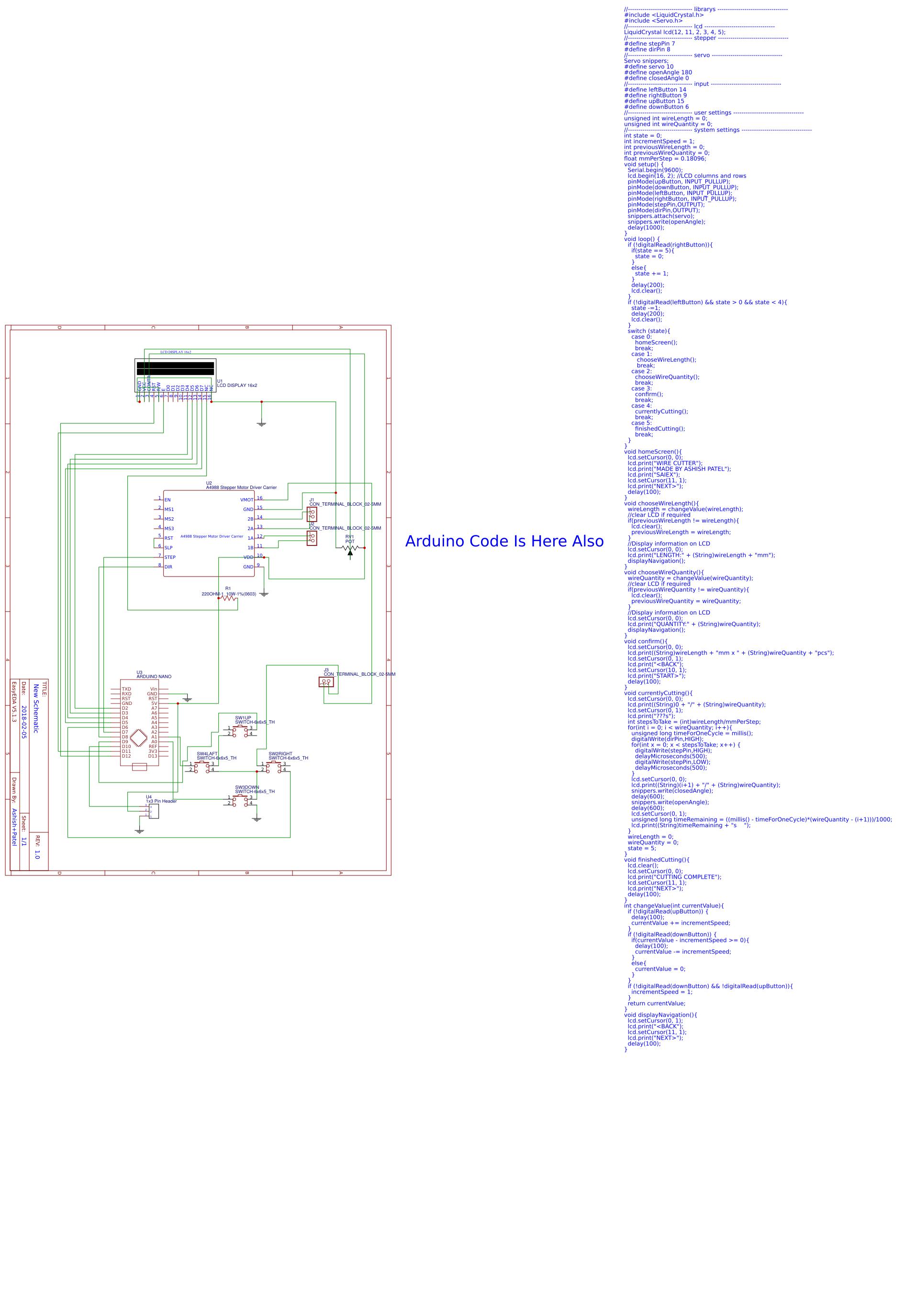 Wire Cutter Easyeda Arduino Lcd Wiring Diagram