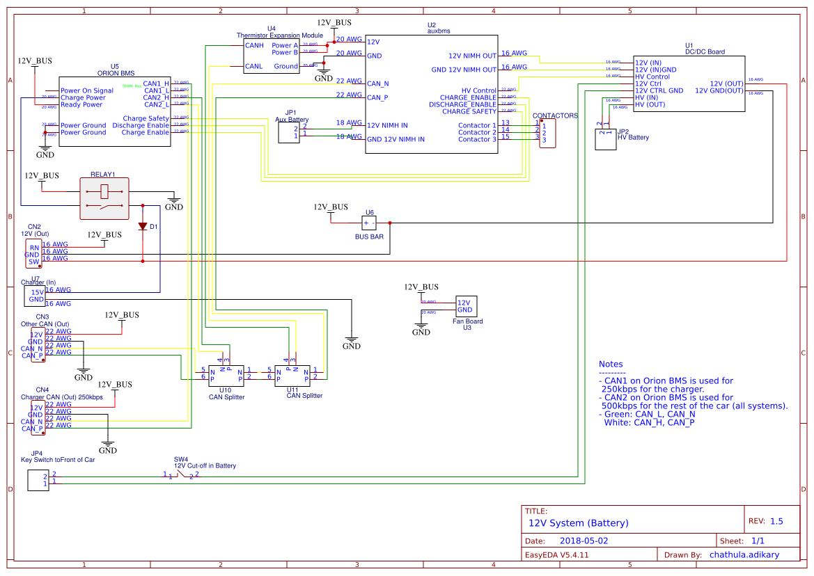 battery enclosure 12v wiring