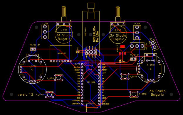 arduino-nano-controller - EasyEDA