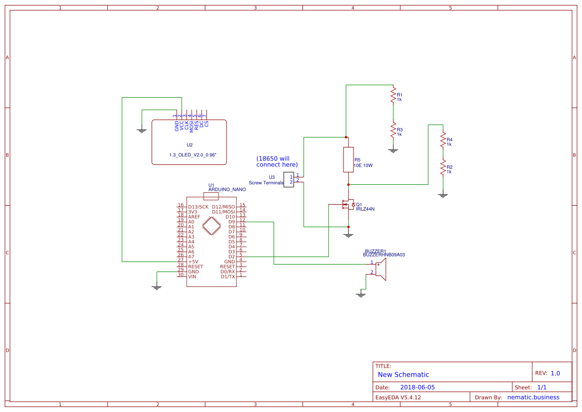 Explore Easyeda 232 Serial Port Circuit Diagram Amplifiercircuit 18650 Capacity Tester