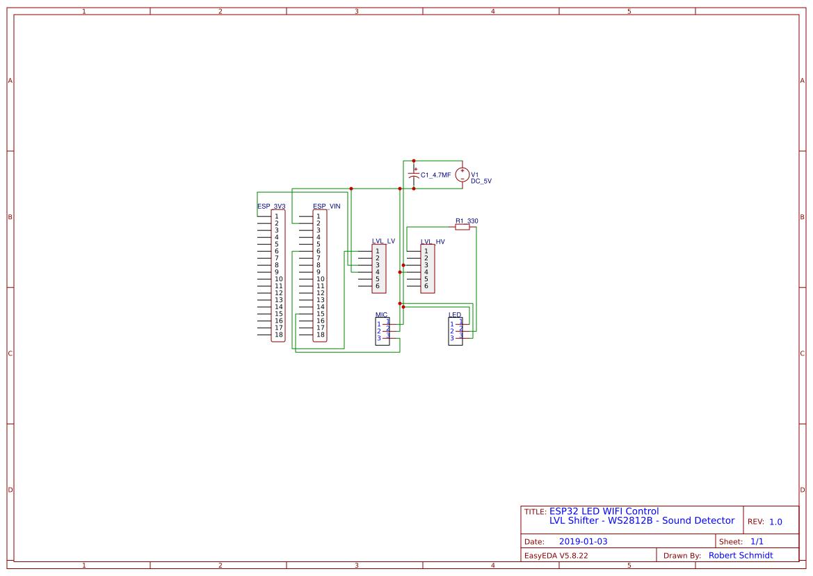 ESP32_LED_WIFI_Control - EasyEDA