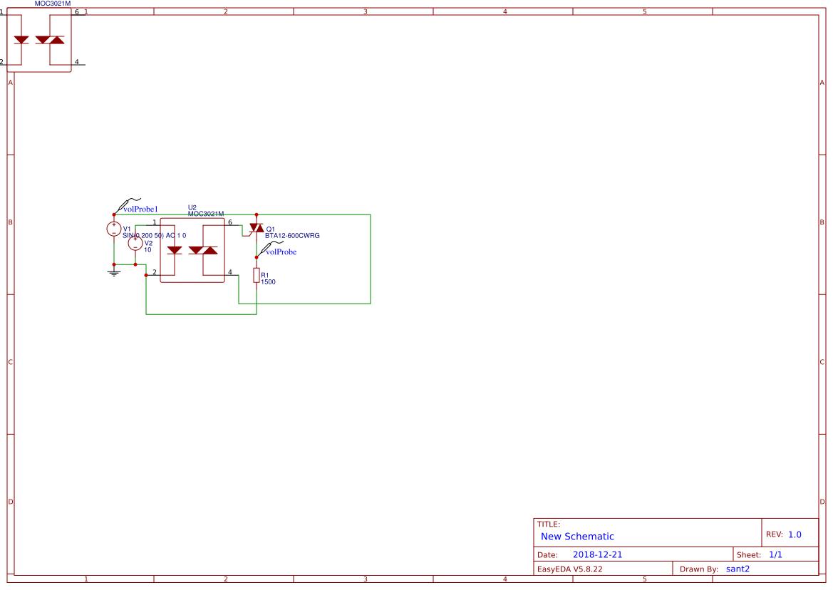 Triac Btb16 Search Easyeda Circuit Diagram Driver