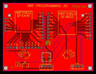 nrf51822 programming - EasyEDA