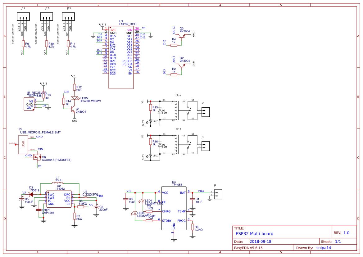 espressif core board v2 esp32 wroom32 - Search - EasyEDA